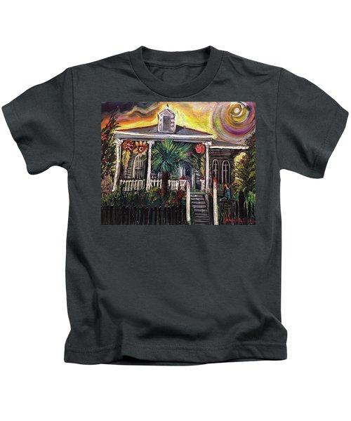 Summertime New Orleans Kids T-Shirt