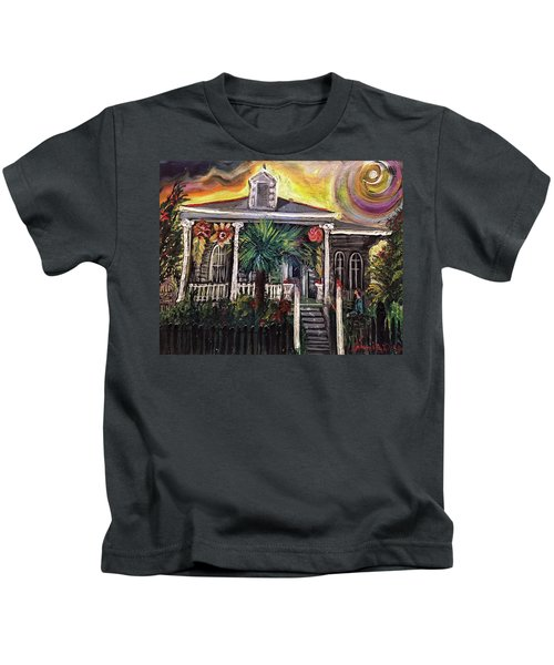 Summertime New Orleans Kids T-Shirt