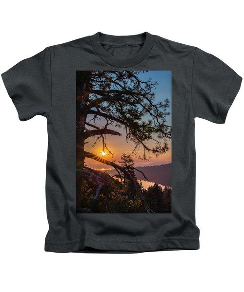 Sun Ornament Kids T-Shirt