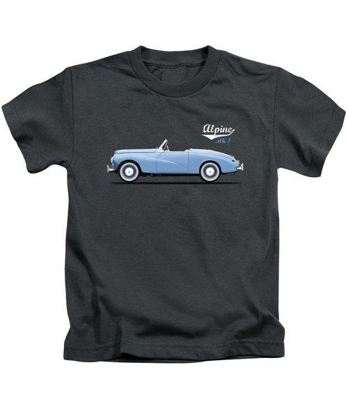 Sunbeam Alpine Sport 1953 Kids T-Shirt