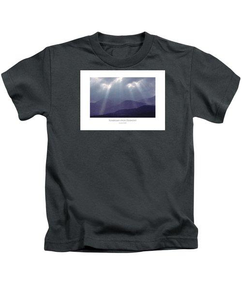 Sunbeams Over Derwent Kids T-Shirt