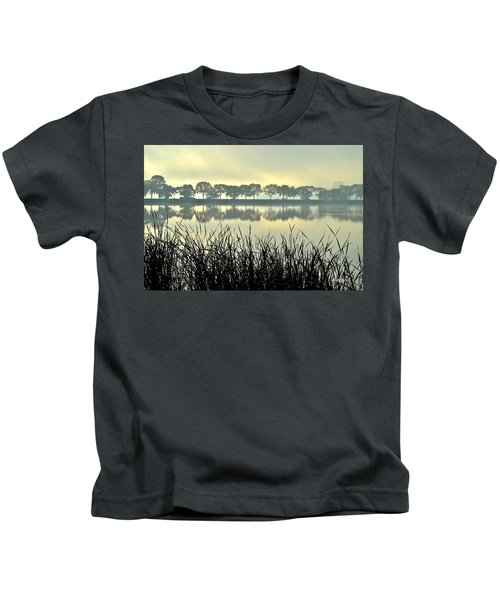 Fog At Sunrise Kids T-Shirt