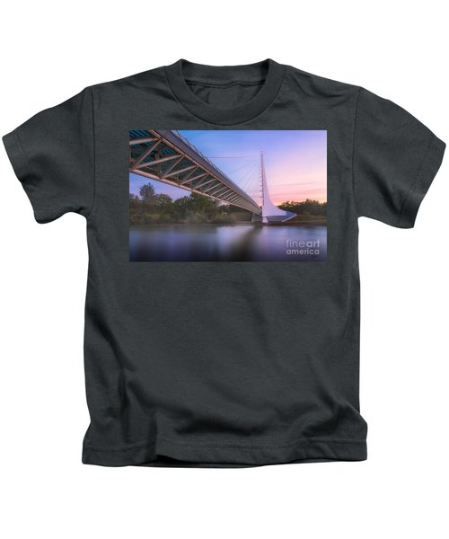 Sundial Bridge 6 Kids T-Shirt