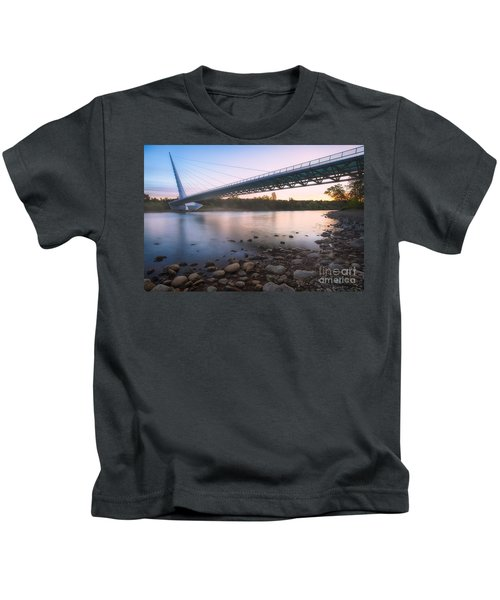 Sundial Bridge 7 Kids T-Shirt