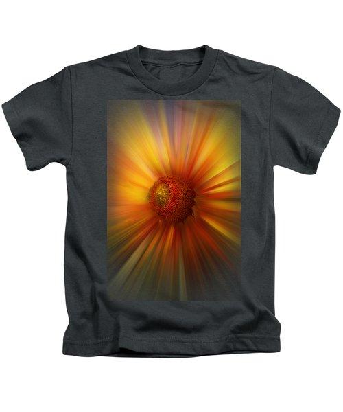 Sunflower Dawn Zoom Kids T-Shirt