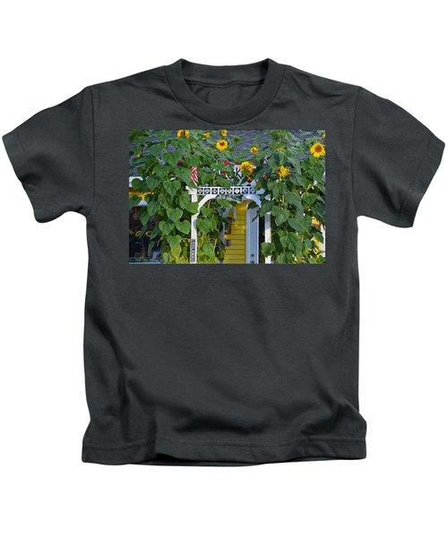 Sunflower Roads Kids T-Shirt