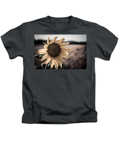 Sunflower Solitude Kids T-Shirt