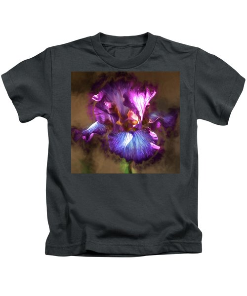 Sunlight Dancing On Iris Kids T-Shirt