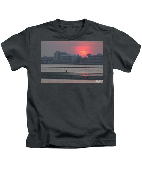 Sunrise And Skyline Kids T-Shirt