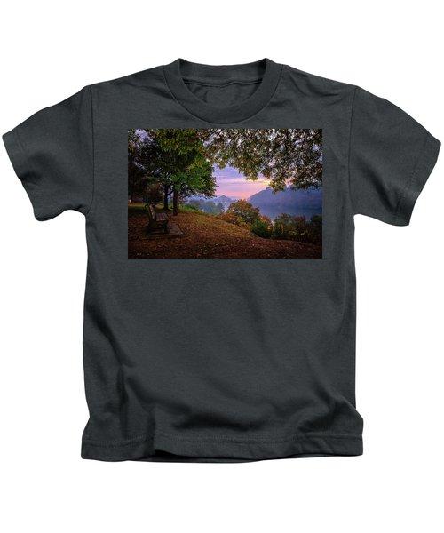 Sunrise At River Rd  Kids T-Shirt