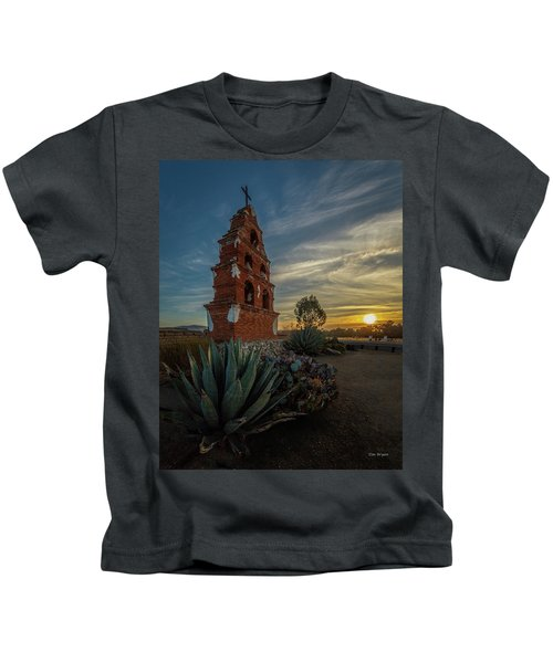 Sunrise At San Miguel Kids T-Shirt