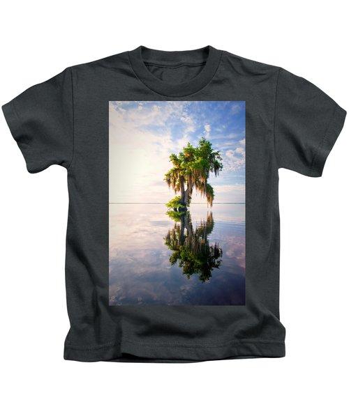 Sunrise Dip #2 Kids T-Shirt