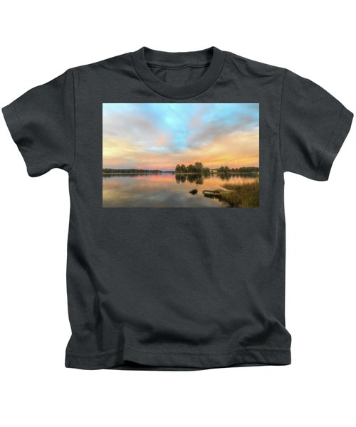 Sunrise, From The West Kids T-Shirt
