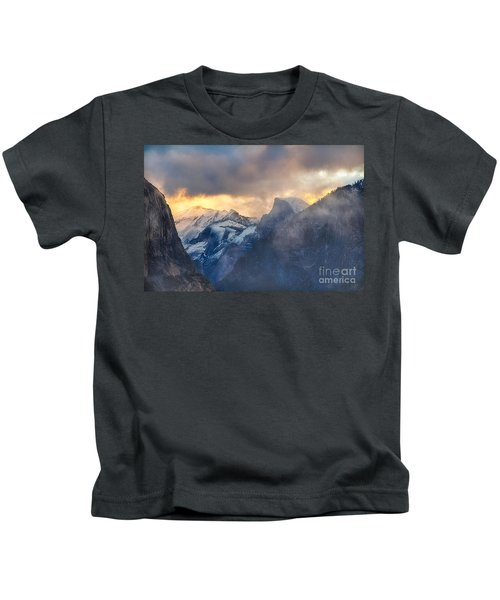 Sunrise Half Dome Kids T-Shirt