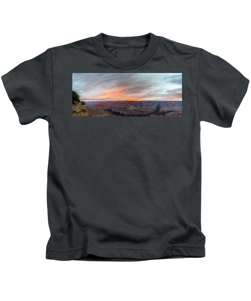 Sunrise In The Canyon Kids T-Shirt