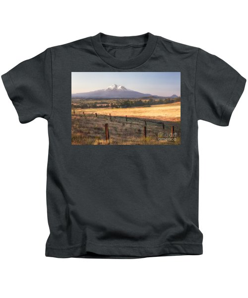 Sunrise Mount Shasta Kids T-Shirt