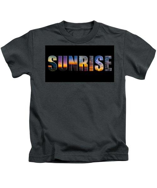 Sunrise Kids T-Shirt