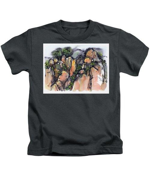 Sunrise On The Yellow Mountain, China Kids T-Shirt