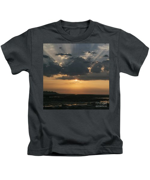 Sunrise Over The Isle Of Wight Kids T-Shirt