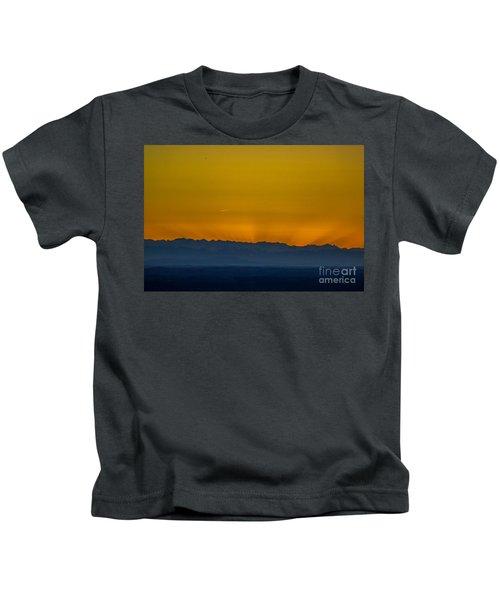 Sunset 3 Kids T-Shirt
