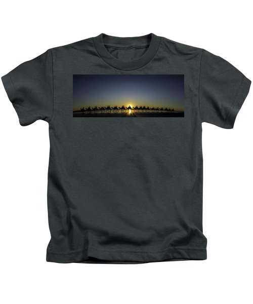 Sunset At Cable Beach Kids T-Shirt