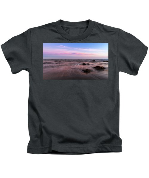 Sunset At The Atlantic Kids T-Shirt