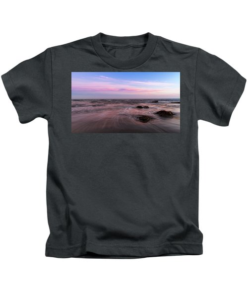 Sunset At The Atlantic Kids T-Shirt