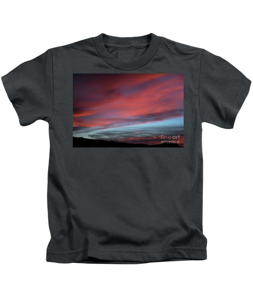Sunset In Capital Reef  Kids T-Shirt