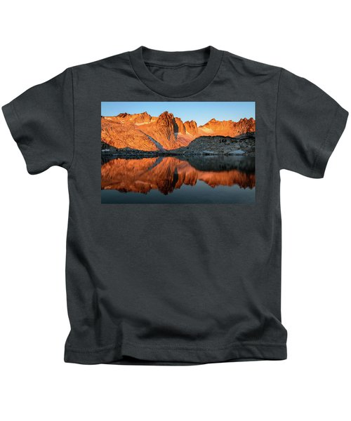 Sunset In The Higher Enchantment Kids T-Shirt