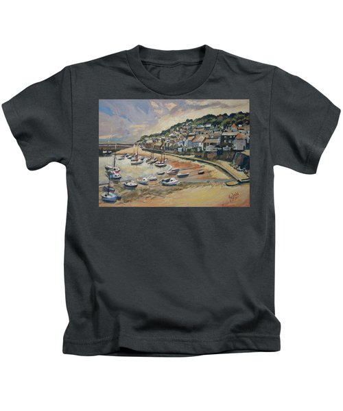 Sunset Mousehole Kids T-Shirt