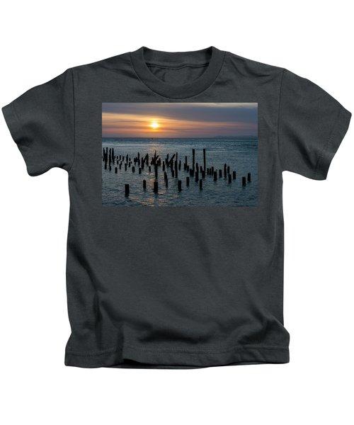 Sunset On The Empire Kids T-Shirt