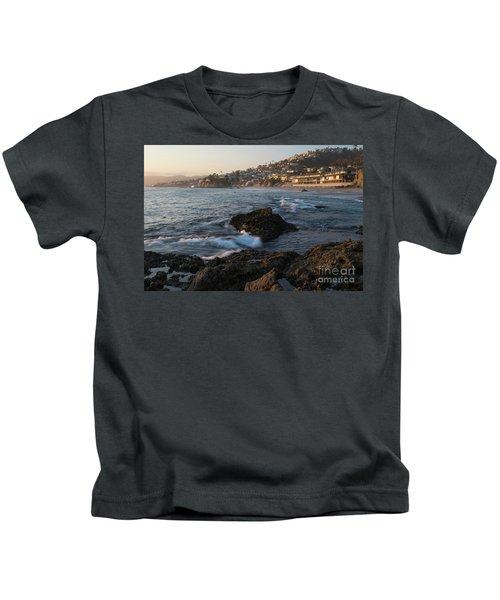 Sunset Over Laguna Beach   Kids T-Shirt