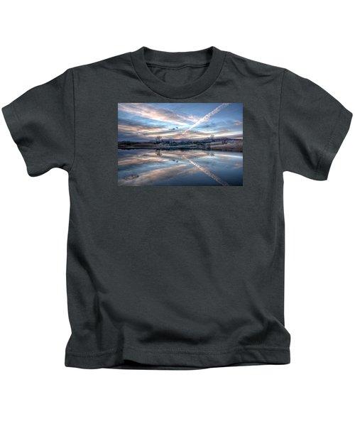 Sunset Reflection Kids T-Shirt