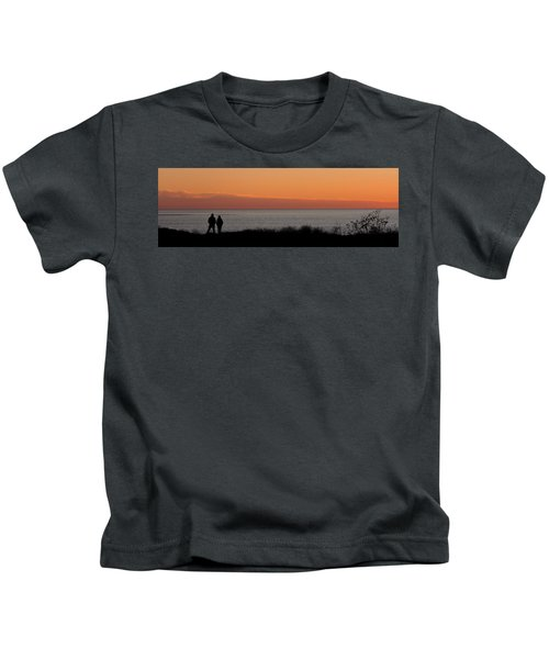 Sunset Stroll Kids T-Shirt