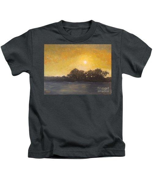 Sunset Through The Fog Kids T-Shirt