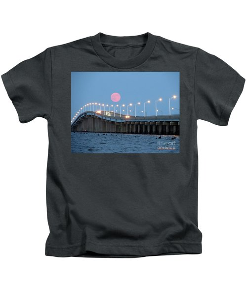 Super Moon  Kids T-Shirt
