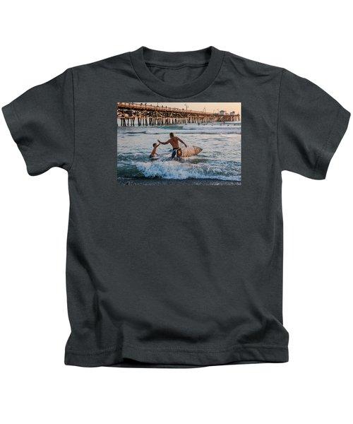 Surfboard Inspirational Kids T-Shirt