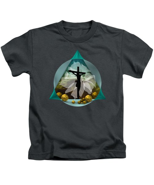 Surreal Crucifixion Kids T-Shirt