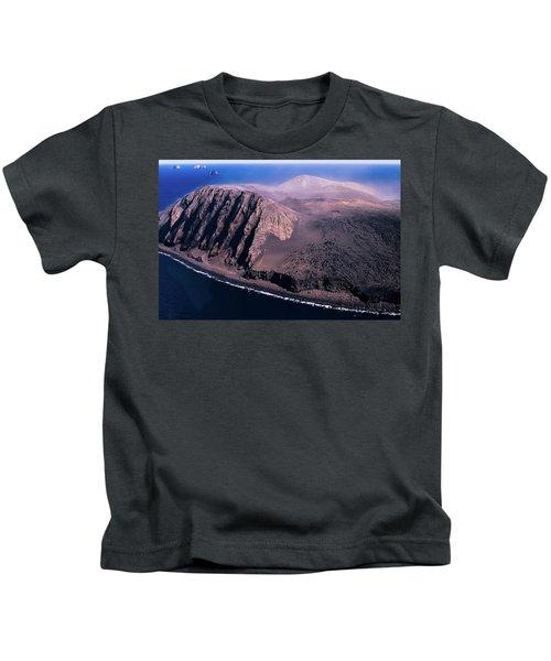 Surtsey In Iceland Kids T-Shirt
