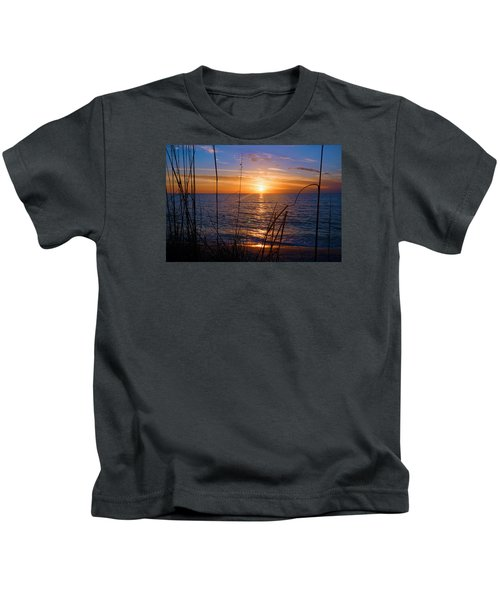 Sw Florida Sunset Kids T-Shirt