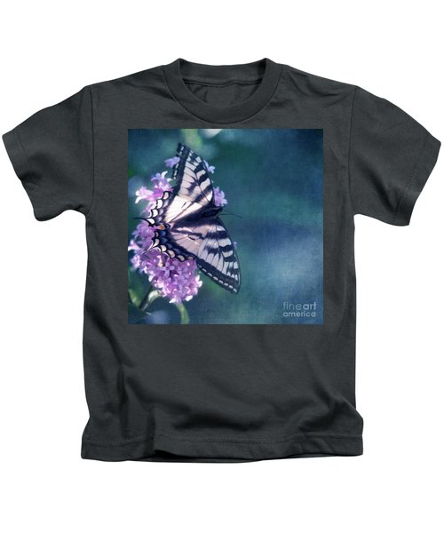 Swallowtail And Lilac Kids T-Shirt