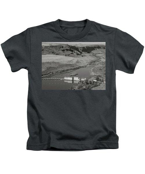 Swan Falls Dam Kids T-Shirt