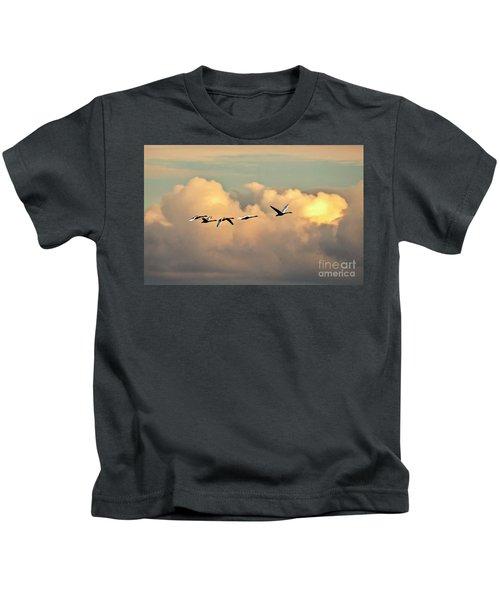 Swan Heaven Kids T-Shirt