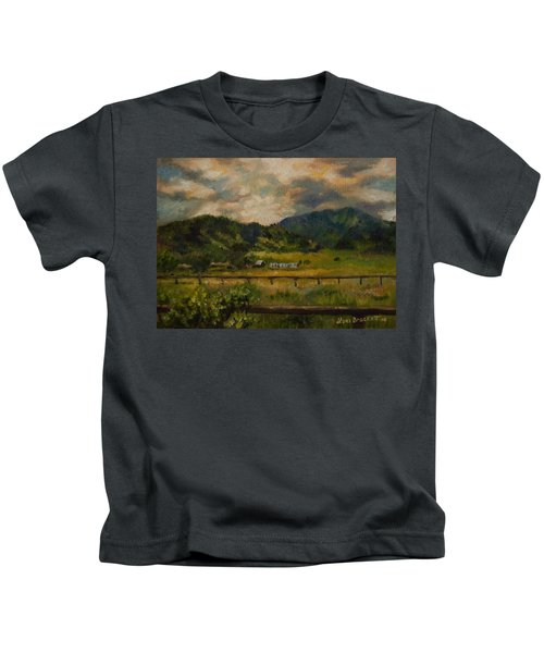 Swan Valley Hillside Kids T-Shirt