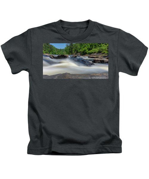Sweetwater Creek Long Exposure Kids T-Shirt