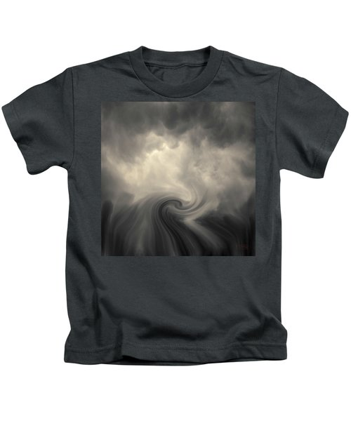Swirl Wave Vi Toned Kids T-Shirt