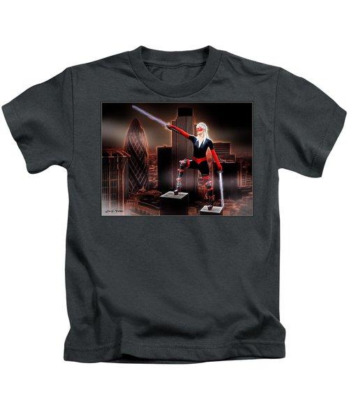 Sword Of The Avenger Kids T-Shirt