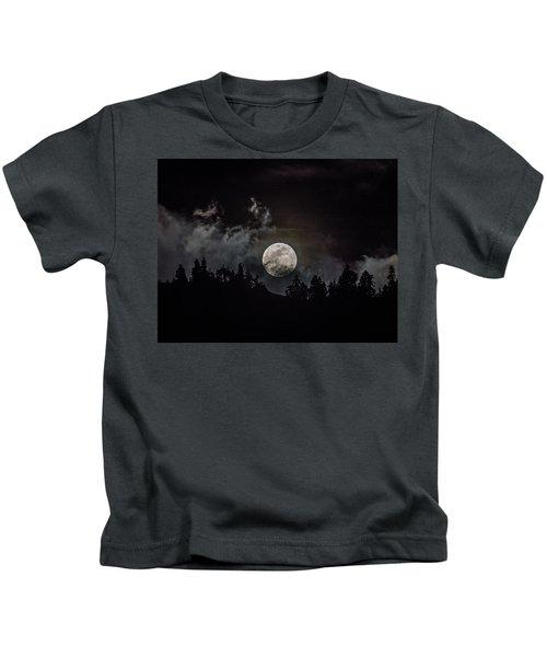 Tahoe Moon Cloud Kids T-Shirt