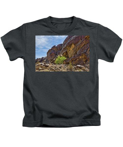 Tahquitz Canyon Rocks Kids T-Shirt