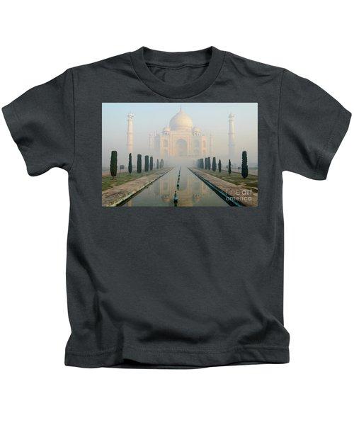 Taj Mahal At Sunrise 02 Kids T-Shirt